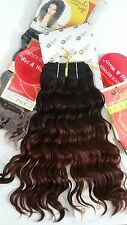 "NEW 100% REAL Human Hair JANET European Curl Wet n Wavy 12"" inch TT1B/33 Weaving"