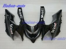Front Nose Cowl Upper Fairing For Kawasaki Ninja ZX10R 2004-2005 ZX1000 Black