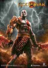 God of War 3 Game Wall Scroll Poster Licensed CWS Media Group 27335  New