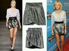 Isabel Marant for H&M silver mini skirt BN UK 12