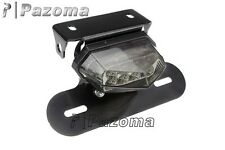LED Tail Light License Plate Holder For Yamaha KTM Dual Sport ATV Motorcycle MX