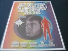 Star Trek Retro Lithograph 18x24 inches-full color! For the World is Hollow...!
