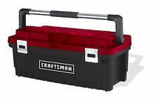 Craftsman 26 Inch Tool Box with Tray - Black/Red Free Shipping New