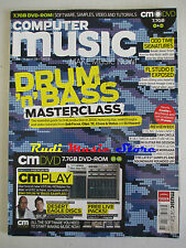 COMPUTER MUSIC Magazine 128 Ag 2008 Drum'n'Bass Masterclass 112dB Morgana No dvd