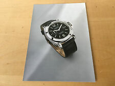 Press Kit PANERAI Luminor Marina Auto. 2002 Picture + Details Watch NOT Included