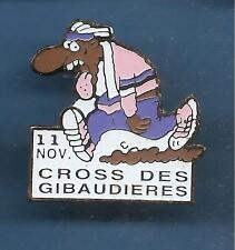 Pin's pin HUMOUR LE CROSS DES GIBAUDIERES (ref 026)