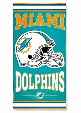 NFL Miami Dolphins Fiber Reactive Beach Towel