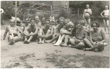 2 echte Originale 1930–1965 Personen in Badekleidung