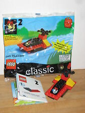 Lego McDonalds Happy Meal #2 2069 Boat MIB 100% Complete 1999 classic basic