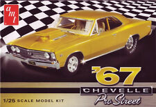 AMT 1/25 1967 Chevy Chevelle Pro Street Car Plastic Model Kit 876 AMT876