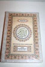 Hafezi Quran Koran Color Coded Tajweed Rules Art paper rainbow