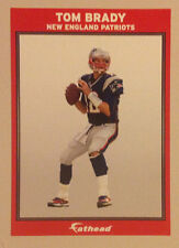 "Tom Brady FATHEAD Small 6""x4"" Player Advertising Panel PATRIOTS Wall Decal"