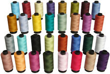 32 All Purpose Sewing & Quilting 100% Cotton Thread Spools *500 yards each
