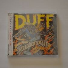 (GUNS N' ROSES) DUFF - Believe in me - 1993 JAPAN CD FIRST PRESS