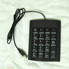USB 19 keys Numeric Number Num pad Keypad Keyboard For Laptop Notebook netbook