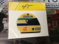 AYRTON SENNA HELMET 1990 3D EPOXY STICKER/DECAL NEW
