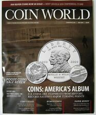 COIN WORLD Magazine July 2015 - The Wright Brothers Cover - America's Album