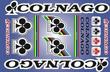 Colnago decals stickers sheet (cycling, mtb, bmx, road, bike) PRINTED