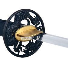 Musashi Brand Handmade Differential Harden 1060 Dragon Katana Samurai Sword BD