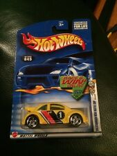 2002 HOT WHEELS VOLKSWAGEN NEW BEETLE CUP #045