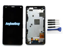 LCD Touch Screen Assembly Frame For Sony Xperia Z3 Compact Mini D5803 D5833 Ts