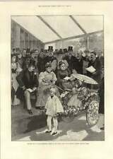 1893 Princess May Prizes Floral Fete Regents Park Tw Nussey Lord Calthorpe