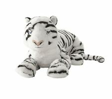 "IKEA 23"" Tiger Stuffed Animal Children Kid Soft Toy White ONSKAD NEW GIFT"