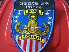 Santa Fe Police Bomb Squad patch
