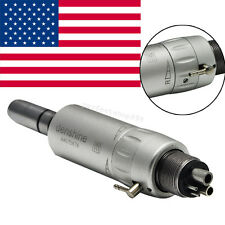 NEW Dental Slow Low Speed Handpiece E-type Air Motor  4 Hole fit for NSK USA