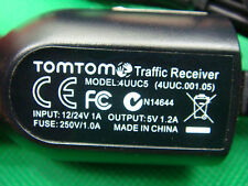 TOMTOM VIA 1605 620 280 260 135 M RDS TMC FREE LIFETIME Traffic Receiver Charger