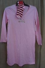 Charter Club Intimates Gown Sz S Pink Long Sleeve Night Gown Socks Sleepwear