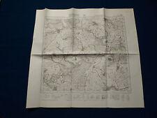 Topographische Karte von Württemberg Meßtischblatt 7426 Dettingen a.Albuch 1945