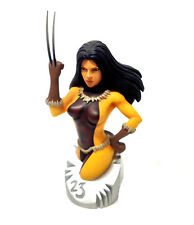 Marvel Comics X-23 Wolverines Daughter statue Bust by Diamond, Logan movie RARE