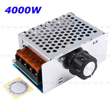 High Power 4000W AC 220V SCR Speed Controller Motor Electronic Voltage Regulator