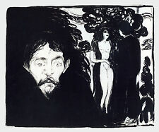 Edvard Munch Prints: Jealousy - Fine Art Print