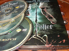 Harry Potter e i Doni della Morte SteelBook  Box 3 Blu Ray ..... Ex