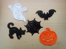 Halloween lace embellishments - pack of 5