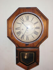 Verichron Westminster Chime School House Regulator Wall Clock Beautiful!