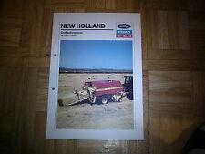 Prospekt New Holland Großballenpressen D 800