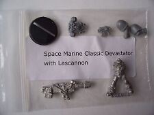WARHAMMER 40K NEW SPACE MARINE DEVASTATOR with LASCANNON  METAL MODEL,