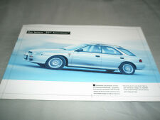 Subaru Impreza 20th Anniversary brochure c2002? German text