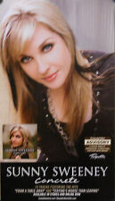 SUNNY SWEENEY, CONCRETE POSTER (D8)