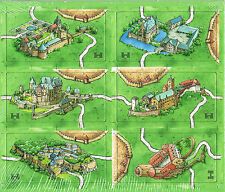 Carcassonne Mini Expansion Castles in Germany - from Hans im Glück NEW