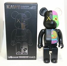 KAWS 400% BLACK DISSECTED BEARBRICK ORIGINAL FAKE MEDICOM TOY BE@RBRICK 2010
