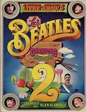 RARE EO 1971 ROCK + LES BEATLES LIVRE SHOW 2 DES CHANSONS ILLUSTRÉES