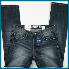 TOM TAILOR MARVIN MEN'S JEANS 31/32 STRAIGHT LEG BLUE DENIM