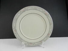 "Lenox China Charleston Salad Plate Cream Platinum Trim 8 1/4"" D ca 1982-2008"