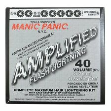 Manic Panic Flash Lightning Hair Bleach Kit 40 Volume New