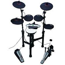 Samson Carlsbro CSD130 Compact Portable Electronic Drum Kit Set w/ Module Pedal