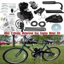80cc 2 Stroke Cycle Bike Motorised Engine Black Motor kit For Bicycle New
